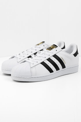 on sale ed318 246f1 adidas Originals - Superstar Sneaker - White + Black + Gold. - Herren -