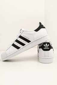 adidas Originals - Superstar sneakers basses - White + Black + Gold