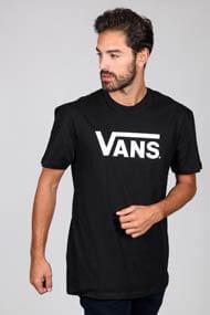 Vans - T-Shirt - Black + White