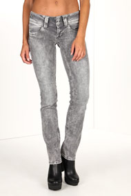 Pepe Jeans - Straight Leg Jeans L32 - Grey