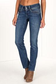 Pepe Jeans - Straight Leg Jeans L32 - Blue