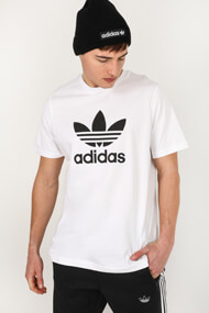 adidas Originals - T-Shirt - White + Black