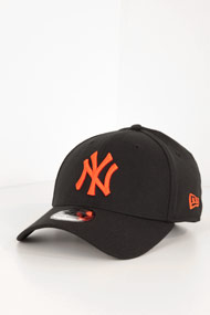 New Era - 39Thirty Cap - Black + Orange