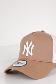 New Era - Trucker Cap / Snapback - Beige + White