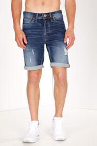 Jack & Jones - Short en jean - Dark Blue