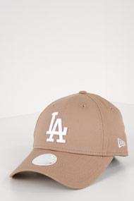 New Era - 9Forty Cap / Strapback - Beige + White