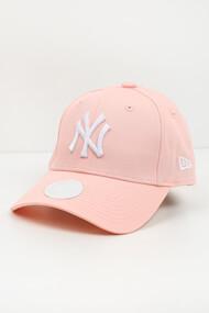 New Era - 9Forty Cap / Strapback - Rose + White