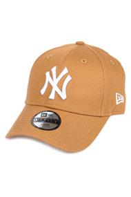 New Era - 9Forty Cap / Strapback - Light Brown + White