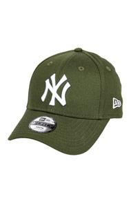 New Era - 9Forty Cap / Strapback - Olive Green + White
