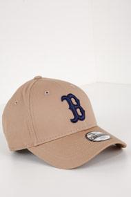 New Era - 9Forty Cap / Strapback - Beige + Navy Blue