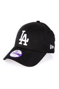 New Era - 9Forty Cap / Strapback - Black + White