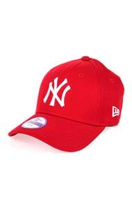 New Era - 9Forty Cap / Strapback - Red + White