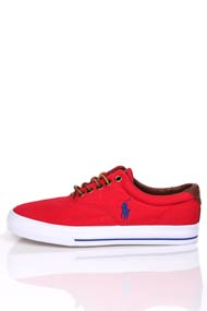 Polo Ralph Lauren - Sneaker low - Red + Blue + White
