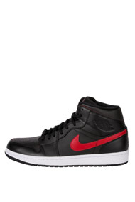 Jordan - Air Jordan 1 Sneaker mid - Black + Red
