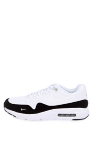 Nike - Air Max 1 sneakers basses - White + Black