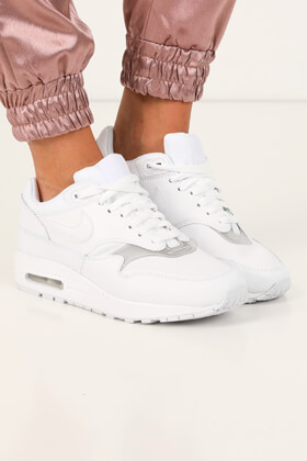 cheap for discount 13ae2 04dfa Nike - Air Max 1 sneakers - White