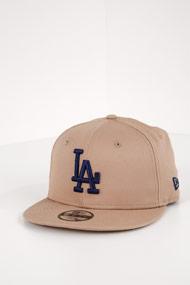 New Era - 9Fifty Cap / Snapback - Beige + Navy Blue