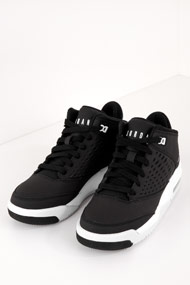 Jordan - Flight Origin Basketballschuhe - Black + White