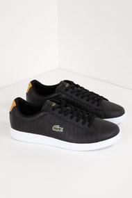 Lacoste - Carnaby Sneaker low - Black + Camel
