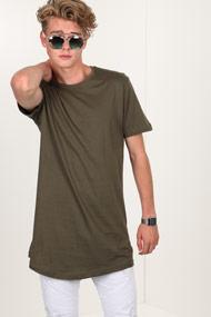 Urban Classics - Long T-Shirt - Olive Green