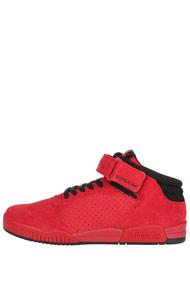 Supra - Ellington Strap Sneaker mid - Red + Black