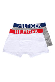 Tommy Hilfiger - Doppelpack Boxershorts - White + Heather Grey