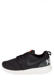 Nike - Roshe One chaussures de course - Black + Anthracite + White