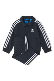 adidas Originals - Baby-Set - Heather Navy Blue + White