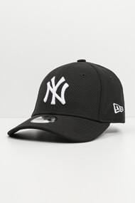 New Era - 9Forty Cap / Strapback - Balck + White