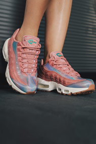 Nike - Air Max 95 Sneaker low - Old Rose + Multicolor