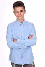 Tommy Hilfiger - Langarmhemd - Light Blue