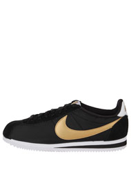 Nike - Classic Cortez sneakers basses - Black + Gold + White