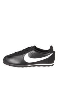 Nike - Cortez sneakers basses - Black + White