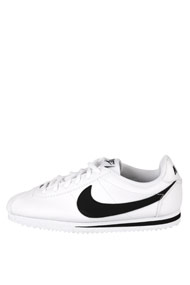 Nike - Cortez sneakers basses - White + Black