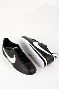 Nike - Classic Cortez sneakers basses - Black + White