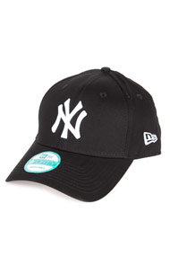 New Era - 9Forty Cap / Snapback - Black + White