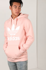 adidas Originals - Kapuzensweatshirt - Rose + White
