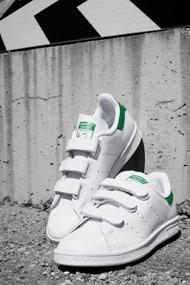 adidas Originals - Stan Smith Sneaker low - White + Green
