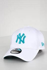 New Era - 9Forty Cap / Strapback - White + Mint