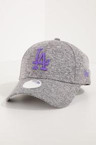 New Era - 9Forty Cap / Strapback - Heather Grey + Violet