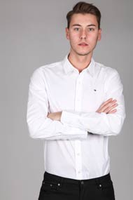 Tommy Hilfiger - Langarmhemd - White