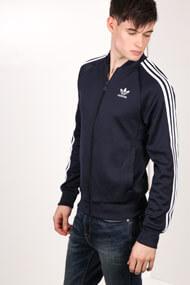 Adidas Originals - Trainingsjacke - Dark Navy Blue + White