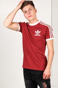 Adidas Originals - T-Shirt - Rust Red + Offwhite