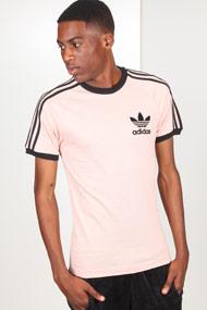 adidas Originals - T-Shirt - Rose + Black