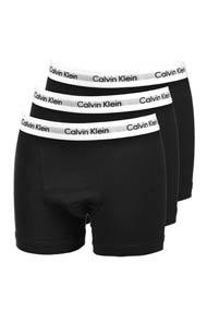 Calvin Klein - Dreierpack Boxershorts - Black + White