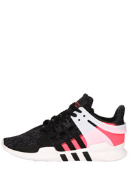 adidas Originals - Equipment sneakers basses - Black + Neon Pink