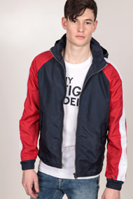 Tommy Hilfiger - Veste légère - Navy Blue + Red + White