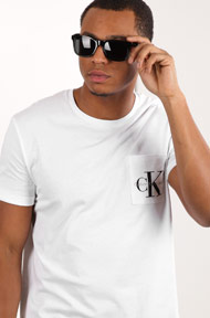 Calvin Klein - T-Shirt - White + Black