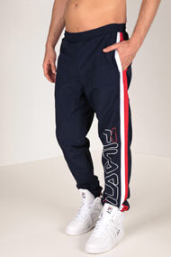Fila - Pantalon de jogging - Navy Blue + Red + Wite