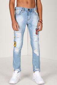 Denim Lab - Slim Fit Jeans - Light Blue